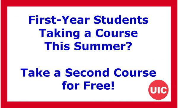 First-Year Student Taking a Course This Summer? Take a Second Course for Free!